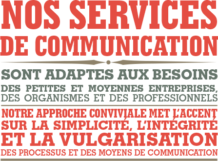 facteur g services design graphique