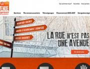 Refonte de l'interface du site de l'organisme l'Avenue Hébergement communautaire.